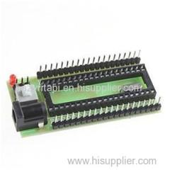 51 Single Chip Microcomputer STC SCM Development Board Minimum System Support STC89C52 STC12C5A60S2 STC11/10 Series