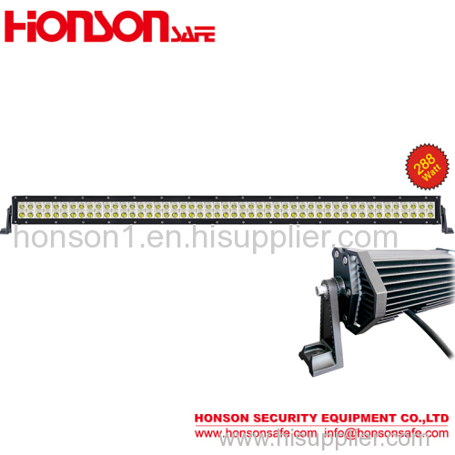 288W LED Off-road and SUV vehicle roof and bumper LED working Lightbar LED-