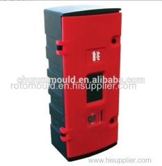 Plastic Fire Extinguisher Box Made of PE OEM Service