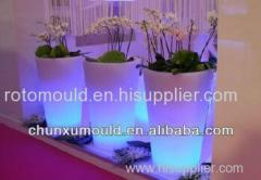 Roto Moulded LED Flower Pot Planter Pot OEM