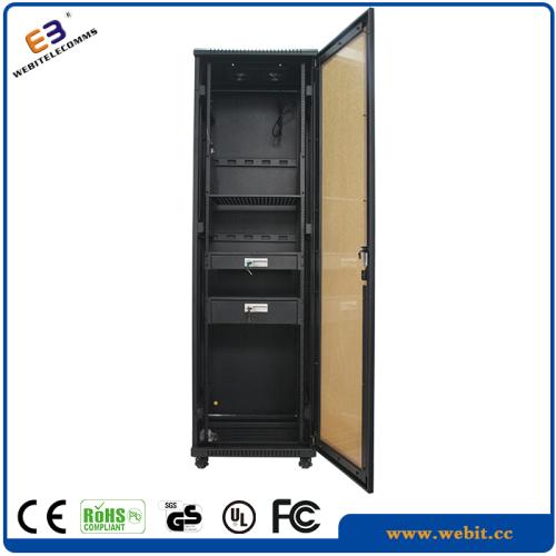 perspex door network cabinet