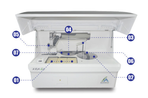 Blood Test Machine Automatic Chemiluminescence Analyzer