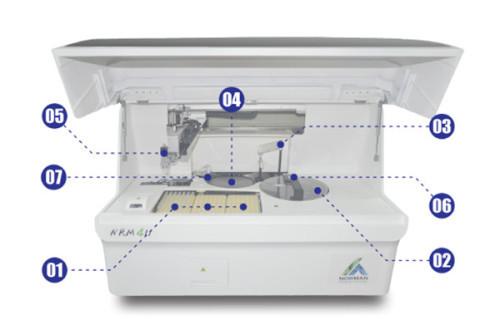Electronic Medical Device Auto Biochemistry Analyzer
