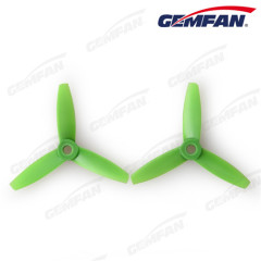 3x3.5 inch Tri-blades glass fiber nylon bullnose quad copter propellers