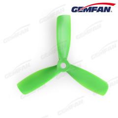 4x4.5 inch 3-blades glass fiber nylon FPV multi rator bullnose propeller