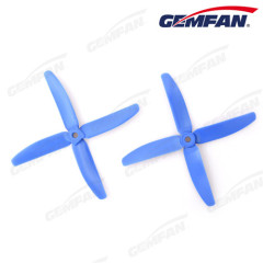 5x4 inch 4-blades glass fiber nylon propellers for multi rotor