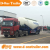 2016 New product 3 axles multi-capacity cbm bulk cement tank semi trailer