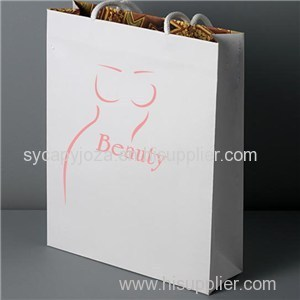 White Paper Bag Printing