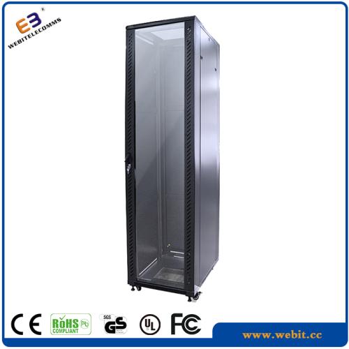 19 inch glass door network rack enclosure