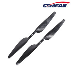 1655 Dragonfly paddle-shaped A Carbon Fiber Props for FPV multirotor