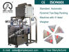 Pyramid Nylon Vietnam LotusTea Bag Packaging Machine with Line and Tag