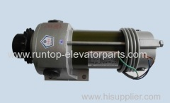 LG elevator parts door motor TOG-MS-3 replaced TOG-MS