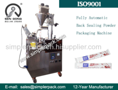 Fully Automatic Back Seal Bag Spiced Powder Packaging Machine