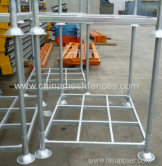 Stackable forklift stillages for Crowd Control Barrier or Event Fence