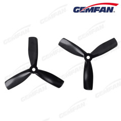 3-blades 4x4.5 inch bullnose PC propeller for FPV quad copter