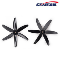 5x4 inch 6-blades PC racing quad copter propellers in high quality