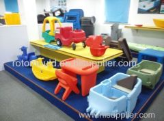 Toy car rotational mould Toy cart