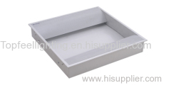 sheet steel indirect light panel with double tube light
