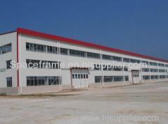 Dois andares estrutura de aço pré-fabricados trusses fábrica asiática