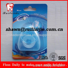 Triangle Shape Dental Floss With Blister Packed