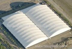 ダブルクロス石炭小屋スペースフレーム石炭貯蔵小屋