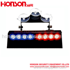 Blue Red LED Amber Emergency Traffic Dash Visor Lights