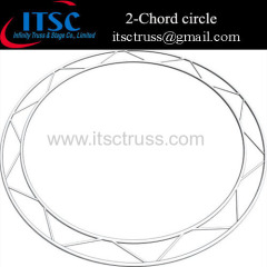 2- Chord circle truss - Horizontal oritention