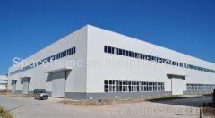 Oficina de aço pré-fabricada de aço leve