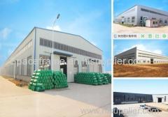 Wide span prefabricated truss steel warehouse