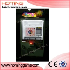newest arcade coin operated game machine prize vending kids toy claw crane game machine for sale