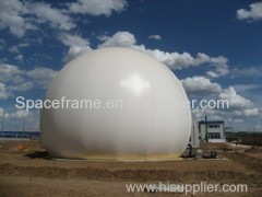 Double Membrane Structure Shed Biogas Holders