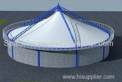 High quality membrane structure sludge or biogas shed