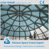 Light Steel Space Frame Structure Glass Dome Roof