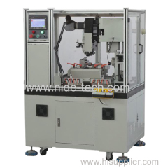 Automatic rotor commutator turning machine