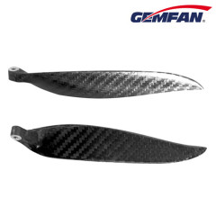 cw/ccw 13x6.5 inch Carbon Fiber Folding rc model aircraft Props