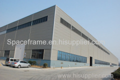 High quality prefabricate light steel structure factory