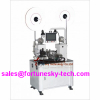 Automatic cut-to-length strip flat ribbon cable terminal crimping machine