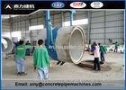 Customized Culvert Making Machine For Flat / Socket / Rabbet Joint Pipe