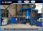 Small Mandrel Vibration Hume Pipe Making Machine For Industrial