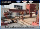 Customized Dimension Concrete Pipe Equipment 12 Months Warranty
