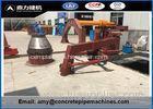 Sand / Cement / Stone / Concrete Manhole Machine With PLC Control