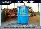 Carbon Steel Concrete Manhole Forms With Sand / Cement / Stone