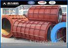 Customized Diameter Concrete Pipe Mold For Water Pipe Outer Casing