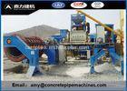 Easy Operate Automatic Rcc Pipe Making Machine With Carbon Steel Material