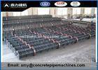 Electric Concrete Pole Making Machine Q234 Steel Plate Material