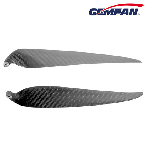 2 blades 1910 Carbon Fiber Folding rc model aircraft Props for Fixed Wings