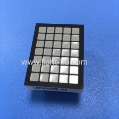 5*7 Square dot matrix led display 3.5mm ultra red for elevator floor number indicator