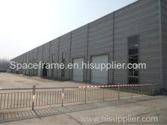 ISO 9001 low cost prefabricated light steel structure factory