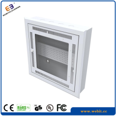 Flush type wall mounted cabinet