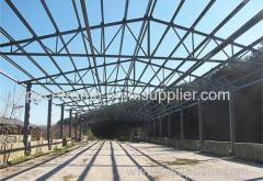 Steel truss structure warehouse prefab warehouse